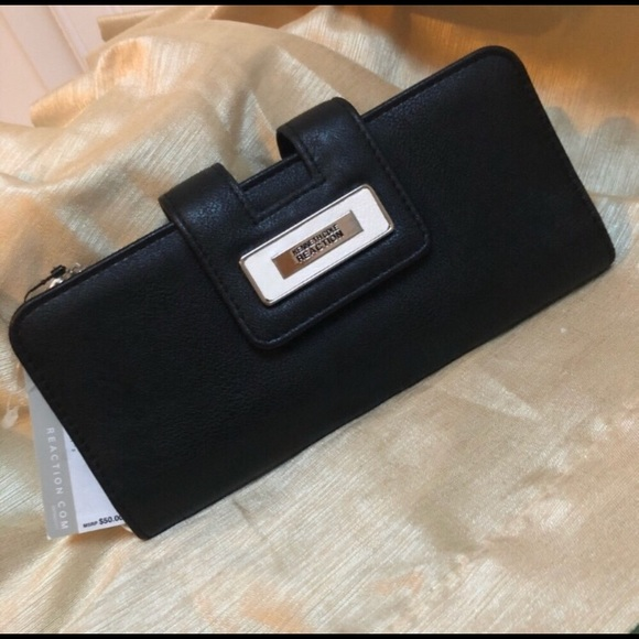 Kenneth Cole Reaction Faux Leather Wallet